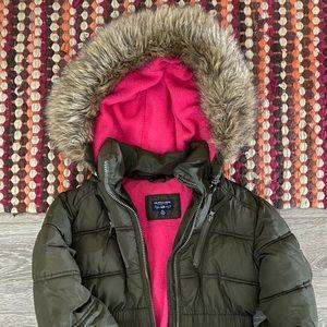 Girls Polo Winter Coat 7/8